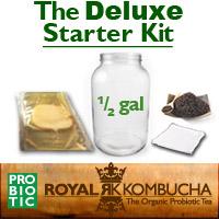 half gallon kombucha starter kit